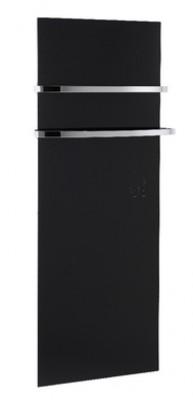 Sèche-serviettes électrique SERENITY noir 740W 150/155
