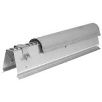 Faîtage zinc naturel ventilé double pente VM 941