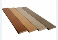 Lame de terrasse composite elégance brun exotique 1f lisse 23x138x4000mm