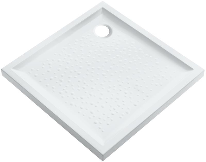 Receveur poser prima 90cm extra plat blanc argent granit allia cavaillon 84300 - Receveur graniet ...