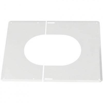 Plaque de finition 45 blanc ISOTEN 150mm extérieur TEN