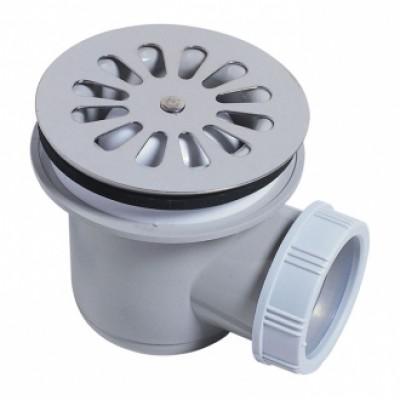 Bonde de douche à sortie horizontale diamètre 60mm WIRQUIN PLASTIQUES