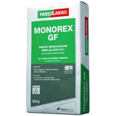 Enduit MONOREX grain fin sable orange T40 30kg PAREXGROUP