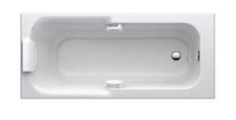 baignoire kheops 3 170x75cm blanc ideal standard epinal. Black Bedroom Furniture Sets. Home Design Ideas