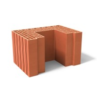 Brique de mur poteau MONOMUR 37.5 - 37,5x21,9x26,2cm