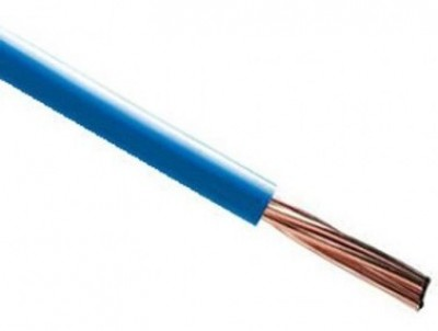 Fil rigide HO7V-R 16mm² bleu au mètre NEXANS
