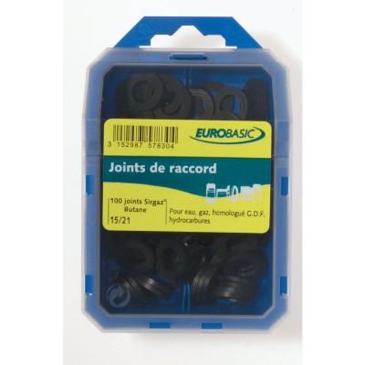 Joint coff caoutchouc GDF assor D12x17mm 40x49mm BASIC SEGMENT