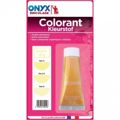 Colorant ONYX jaune d'or 25ml