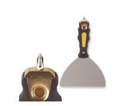 Couteau à enduire inox 15cm avec embout de vissage THEARD