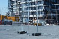 Portillon pour clôture mobile hauteur 2m 1.1m 12kg HERAS