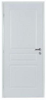 Bloc-porte postformé 3 panneaux recouvrement ISOLANT 2.1 204x83 gauche poussant huisserie 68x58