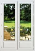 Fenêtre 2 vantaux PVC NEO CLASSIC 1760x905 sans vitrage