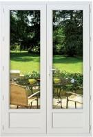 Fenêtre 2 vantaux PVC NEO CLASSIC 1765X890 sans vitrage