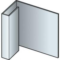 Profil de finition CEDRAL AL aluminium C15 3m ETERNIT CEDRAL