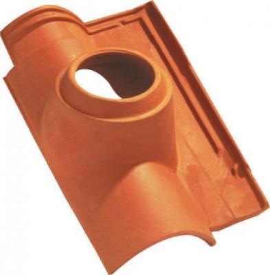 Tuile à douille OMEGA 10 diamètre 150mm nuancé paille IMERYS TOITURE