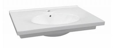 Plan de toilette PRIMA 70cm blanc ALLIA