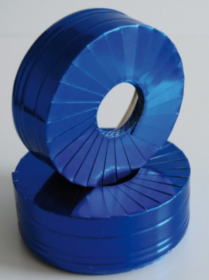 Manchette aluminium bleu 40mm 10m KAIMANN