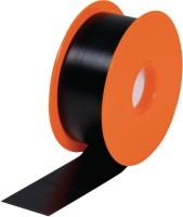 Adhésif PVC noir rouleau 25mx0.03m KAIMANN