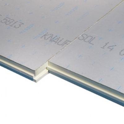 Polyuréthane KNAUF THANE 22 SOL 82mm 120x100cm R=3.7m2.K/W