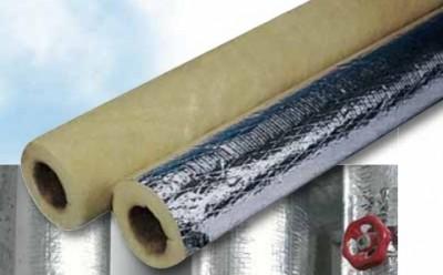 Coquille laine de verre 714+ QN 50mm 70mm 1,2m ISOVER