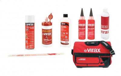 Lot de produits consommables VIRAX