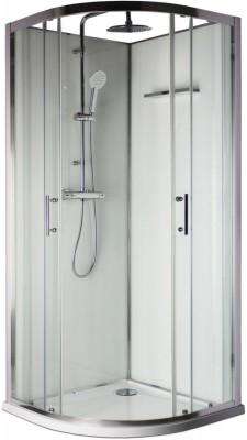 panneau de fond pour cabine de douche concerto 90x90cm. Black Bedroom Furniture Sets. Home Design Ideas