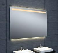 Miroir Dubai éclairage LED avec tablette en verre 120x80cm