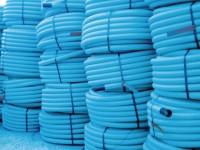 Gaine HEKAPLAST TPC bleu diamètre nominal 50mm 50m HEGLER