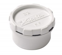 Tampon de visite diamètre 50mm blanc NICOLL