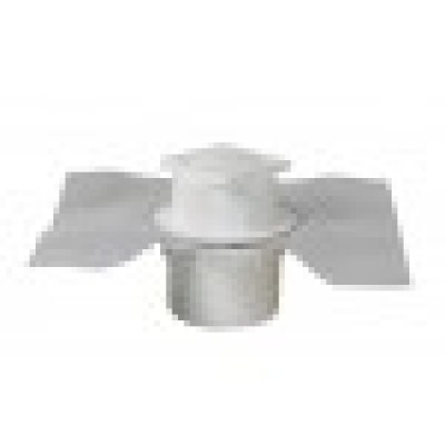Siphon sol carrelés grille PVC verticale NICOLL