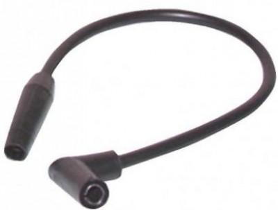 6 câble haute tension longueur 400mm coude DIFF