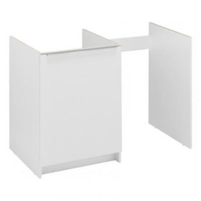 meuble kitchenette boreale ou cadette m lamin 2 portes 150cm blanc moderna rennes 35920. Black Bedroom Furniture Sets. Home Design Ideas