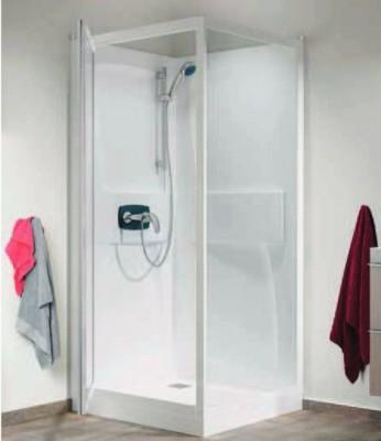 cabine de douche kineprime blanc saint doulchard 18230 d stockage habitat. Black Bedroom Furniture Sets. Home Design Ideas