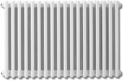 Radiateur eau chaude TEOLYS hauteur 300mm largeur 1500mm 30 éléments 1368W FINIMETAL