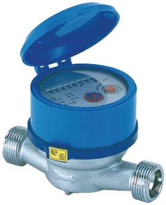 Compteur d'eau 3499RF mâle-mâle 20x27mm diamètre nominal 15mm EF DESBORDES