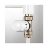 Kit robinetterie thermostatique droit blanc ACOVA