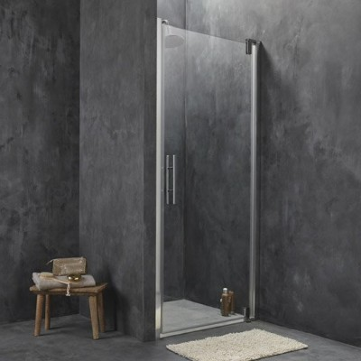 Paroi de douche verre transparent largeur 117/119cm BASIC SEGMENT