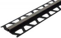 Profile de fractionnement DILEX PVC/CPE gris 2.5m hauteur 8mm BREZINS