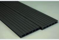 Lame terrasse composite réversible bora gris anthracite 21x150x2850mm