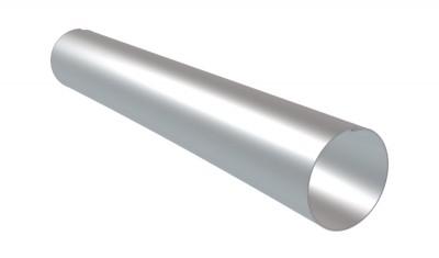 Tuyau de descente zinc soudé tronconique 0.65mm diamètre 80mm 2m PROFIMO