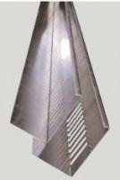 VPC bande garde grève galvanisés hauteur 100mm 2x0,07m SIPLAST