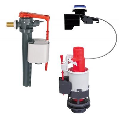 E-MW mécanisme électronique + robinet jollyfill latéral WIRQUIN PLASTIQUES