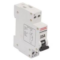 Disjoncteur 1 modulaire phase + Neutre 25A DEBFLEX