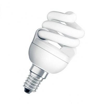 Ampoule Dulux Superstar MICRO TWIST 7W /825 E14 blanc DESAMAIS DISTRIBUTION
