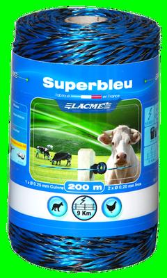 Bobine de fil bleue 400m LACME