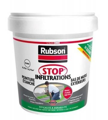 Stop infiltration bas de mur blanc 0.75L DESAMAIS DISTRIBUTION