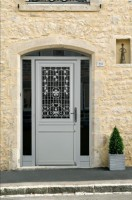 Porte d'entrée bois MONTPARNASSE 2150x900mm DT 56 CETIH MACHECOUL / BEL'M