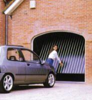 Porte de garage basculante 2250x2000mm non débordante TUBAUTO