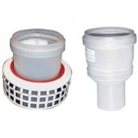 Adaptateur cheminée D60/100 à diamètre 80mm ATLANTIC CHAUDIERES & PAC