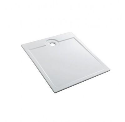 Receveur céramique LATITUDE ultra-plat 90x90x3.5cm traitement Antigliss ALLIA